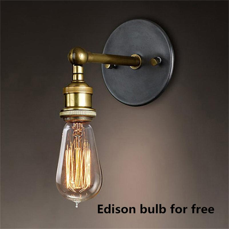 Industrial Wall Sconces Art Deco LED Reading light Headboard Hotel Hall  Luminaire 40W Applique Murale LED