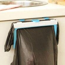 Składana plastikowa torba na śmieci stojak przenośny wiszący kosz na śmieci worek na śmieci przechowywanie uchwyt gadżety kuchenne