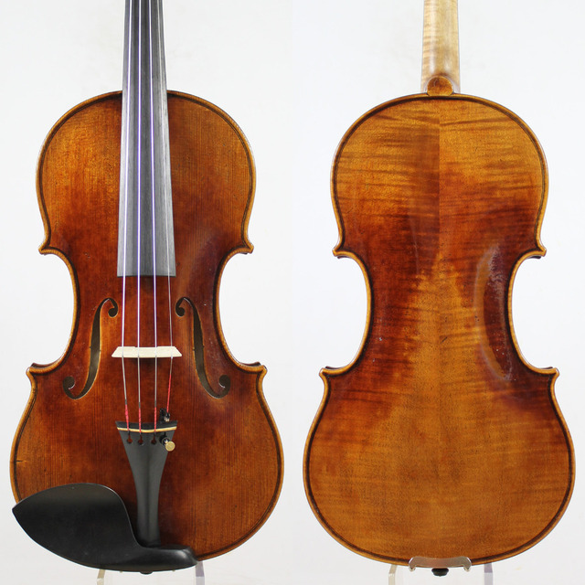 "Guarnieri Ole Bull' 1744 Violin violino Copy .""All European Wood"" ,oil varnish!Best performance!Free Shippin, Case,Bow!"