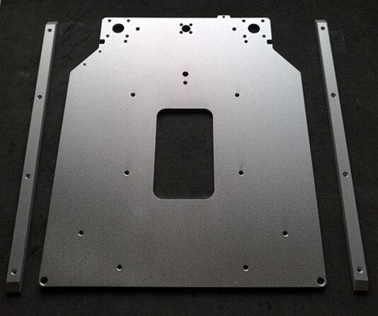 um2 3d printer ultimaker2 upgrade heatedt bed sheetplate kit aluminum frame blasting anode color