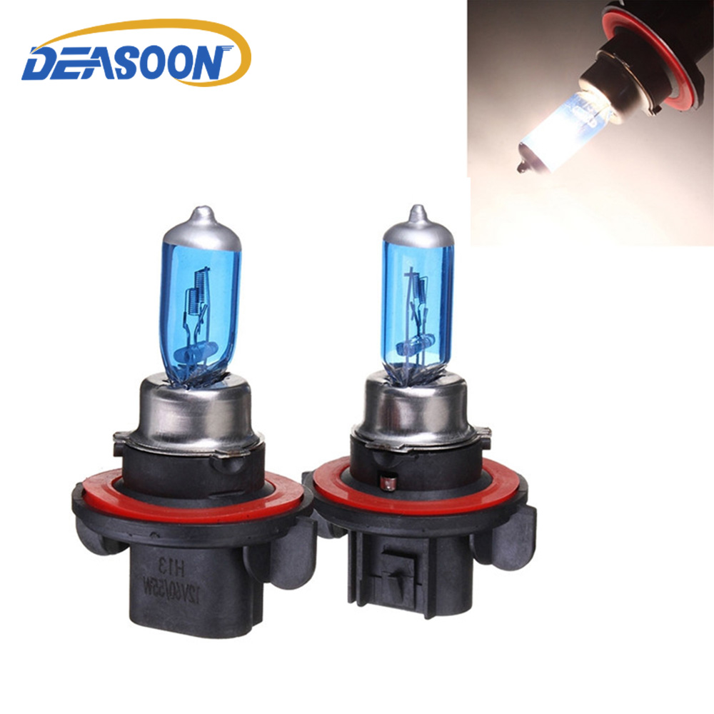 Chevrolet Spark 55w Clear Xenon HID High//Low//Side Headlight Bulbs Set