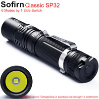 SP32 Powerful LED Flashlight Tactical 18650 Cree XPL2 V6 1000 Lumens High Power Pocket Light Penlight