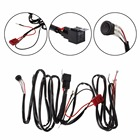 HNGCHOIGE 1Pc DC 10-30V LED Light Bar Wiring Harness For Auto Boat SUV Off Road ATV 40 Amp Relay & ON/OFF Kit High Quality