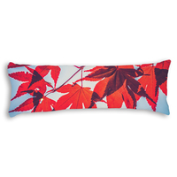 New Brand Maple Leaf Pillowcase Long Body Pillow Cover Cotton Polyester Blend Protector Home Bed Pillowcase