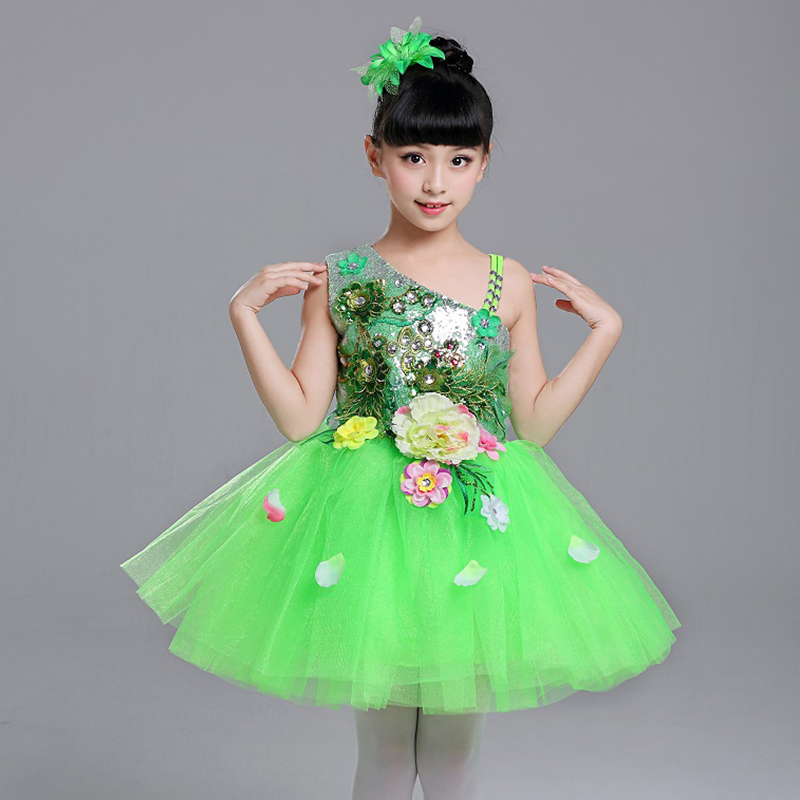 Stage & Dance Wear Ballet Gymnastics Leotard For Girls Dance Costumedancewear Female Costume Latin Jazz Skirt Stage Clothes Competition Costumes Beautiful And Charming