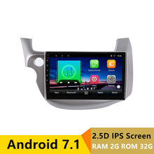 10″ 2+32G 2.5D IPS Android 7.1 Car DVD Multimedia Player GPS For honda Fit jazz 2008 2009 2010-2013 car radio stereo navigation