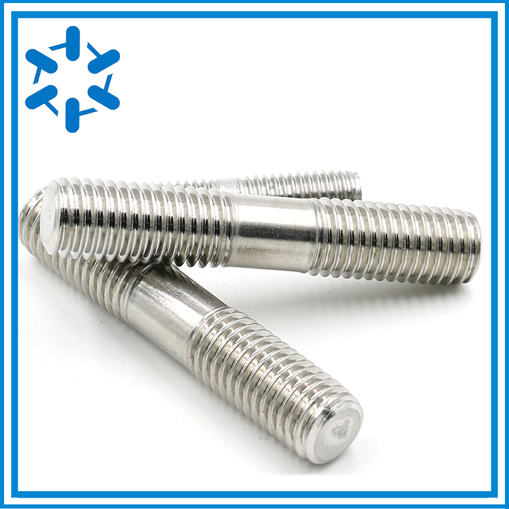M6*100/120 Stainless steel double end Left and right bolts Left and Right hand threads Need to be customized-in Bolts from Home Improvement    1