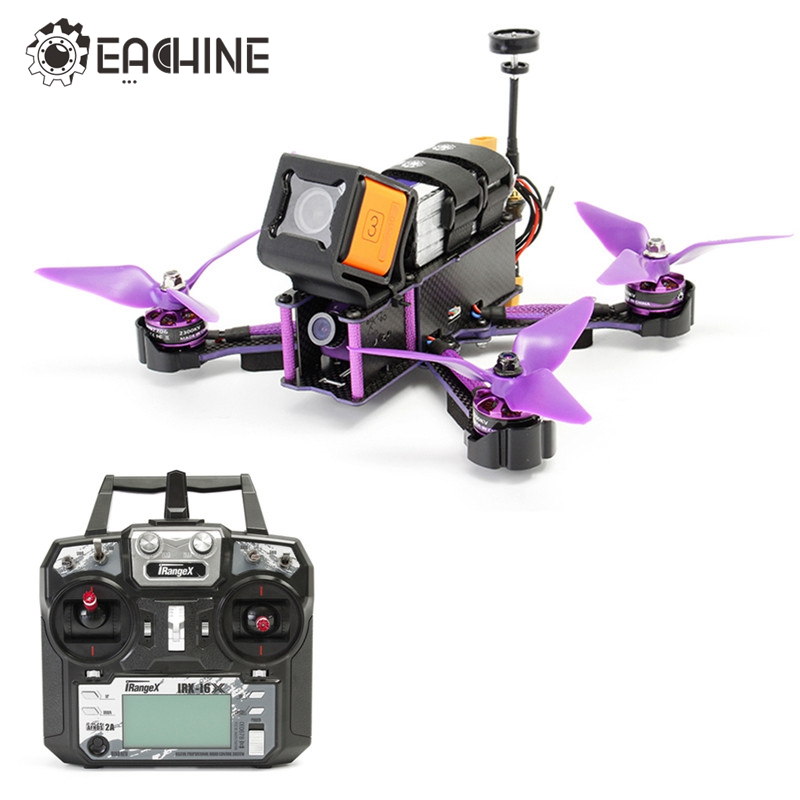Eachine Assistant X220S X220 FPV Racer Drone F4 5.8G 72CH VTX 30A BLHeli_S 800TVL Caméra w/iRangeX iRX-i6X RTF VS X220