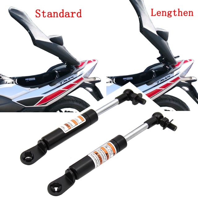 2 Pieces Struts Arms Lift Supports for Yamaha T MAX TMAX 500 530 T MAX 530 2008 2018 2017 2016 Shock Absorbers Lift Seat