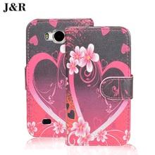 Luxury Filp Case For ZTE AF3 4.0 inch Wallet Leather Case For ZTE Blade AF3 Cartoon Pattern Cover Phone Bags & Cases