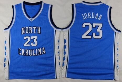 low priced 9002e 78dc8 Throwback Men's Michael Jordan 23 College Jerseys North ...