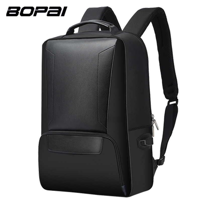 BOPAI Anti-thief USB Charging 15.6inch Laptop Backpack for Men Travel Backpack Waterproof School Backpack Bag for Male Mochila 8848 backpack women s daypack stylish laptop backpack school bags men anti thief design waterproof travel backpack 132 028 011
