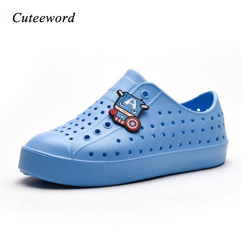 2019 Summer Kids Shoes Brand Children's Hole Shoes Toddler Boys Sandals Orthopedic Sport Student Shoes Girl Boy Beach Sandals