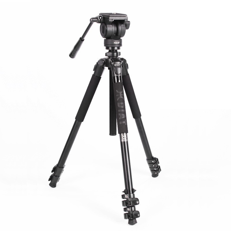 DIAT TA253 Professional Portable Aluminium Camera Camcorder Tripod for Video DSLR Camera Stand with Hydraulic Head  miliboo miliboo mtt705a without head portable aluminium monopod for professional camcorder video camera dslr tripod stand