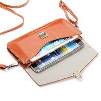 高級カラフルな電話バッグユニバーサルpuレザーポーチクロスボディ小さなバッグ用下記6.3 ''携帯電話ケース女性ファッションポーチ