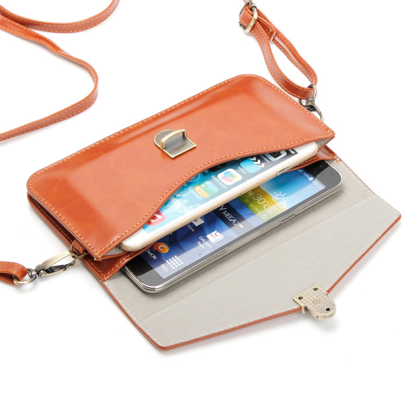 279150a85484 US $11.99 |Luxury Colorful Phone Bag Universal PU Leather Pouch Crossbody  Small Bags for Below 6.3'' Mobile Phones Case Women Fashion Pouch-in Phone  ...