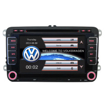 7 2 Din Capacitive Touch Screen Car DVD Player GPS for VW JETTA GOLF MK5 MK6