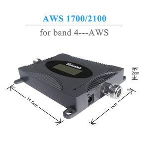 Image 2 - Lintratek ที่มีประสิทธิภาพ AWS 1700/2100 MHz สัญญาณ Boosters Band 4 โทรศัพท์มือถือสัญญาณ Booster 4G LTE 1700 MHz โทรศัพท์มือถือสัญญาณ Amplifier @