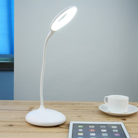 LED Touch On Off Switch Desk Lamp Children Eye Protection Student Study Reading Dimmer Rechargeable Led