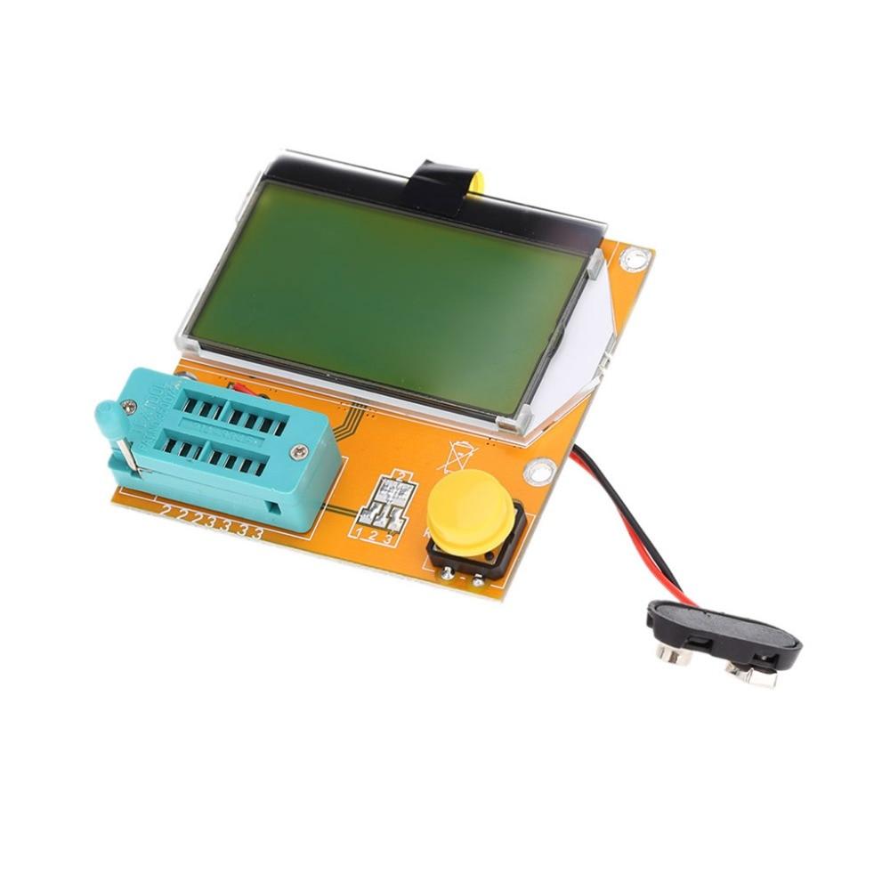 LCD Digital Transistor Tester Meter ESR Transistor Tester Multifunktionale Widerstand Induktivität Kondensator SCR Mos Rohr Triode