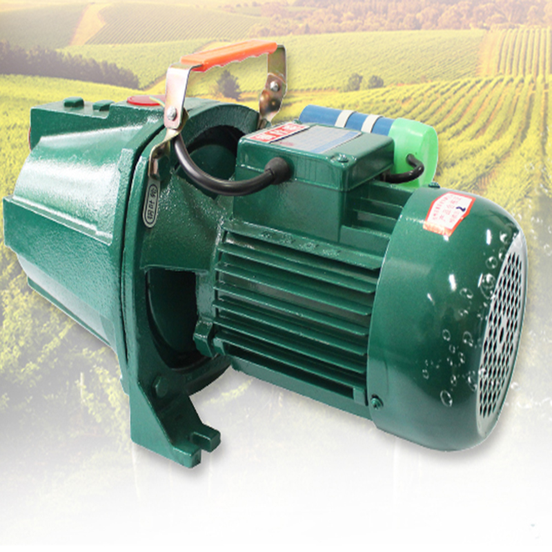 1KW Farm machine pumping wells circulating self-priming pump 0 75kw self priming water pump for high rise wells in the river lake 220v household jet garden pump 4 5m3 h big capacity