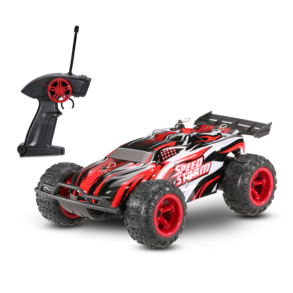 Electric RTR Off Road Buggy Speed Racing RC Car 1/22 27MHz 2WD 20km/h Remote Control Car SUV Men Boys Gift