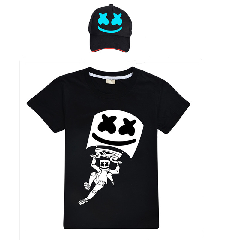 Fort Night Cartoon Tee Shirt Pullover Tops Cosplay Toddle Boys Kids Game