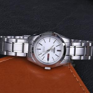 Image 2 - セイコー女性腕時計 5 自動腕時計女性トップブランドの高級防水レディースギフト時計時計リロイmujer montre femmesymk131