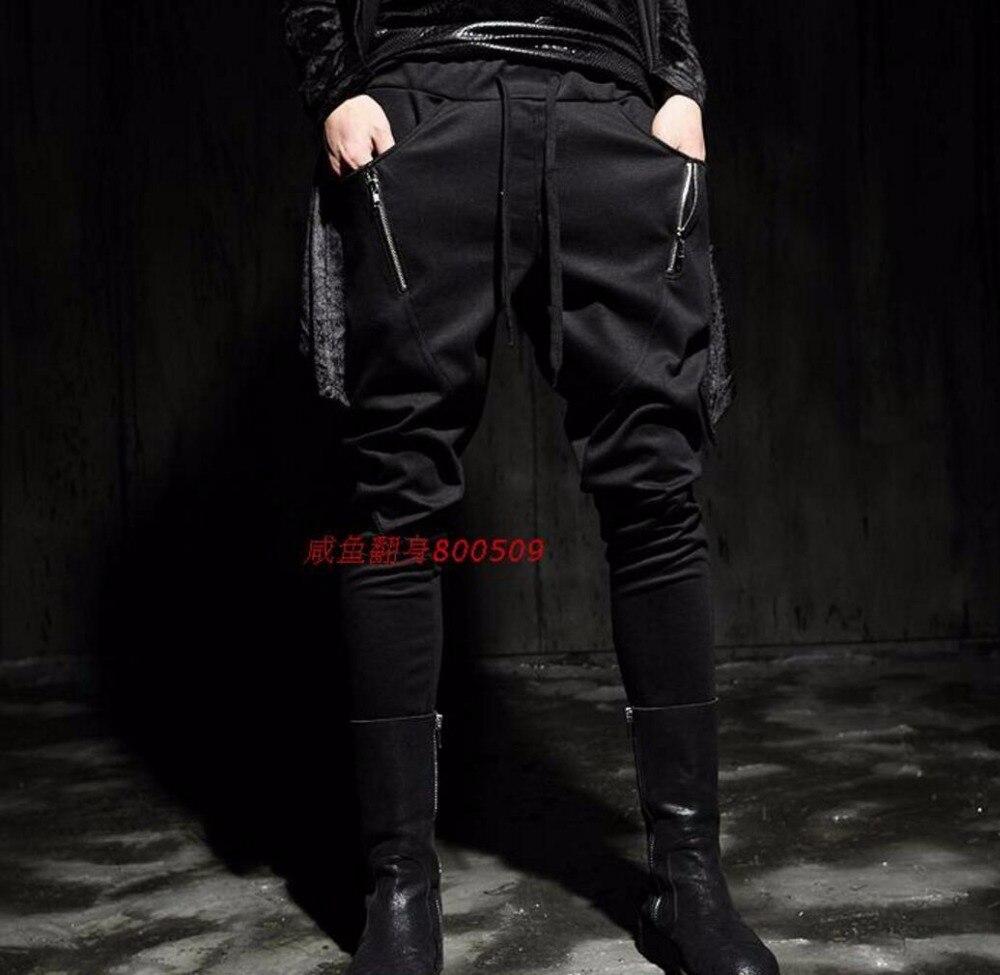 Ropa 27 Cantante Casuales Pantalones Más 2017 Negro Tamaño El gris Skinny 44 Trajes Del Disfraces Ds Dj Pies Personalidad Estilista FffxXPrTwq