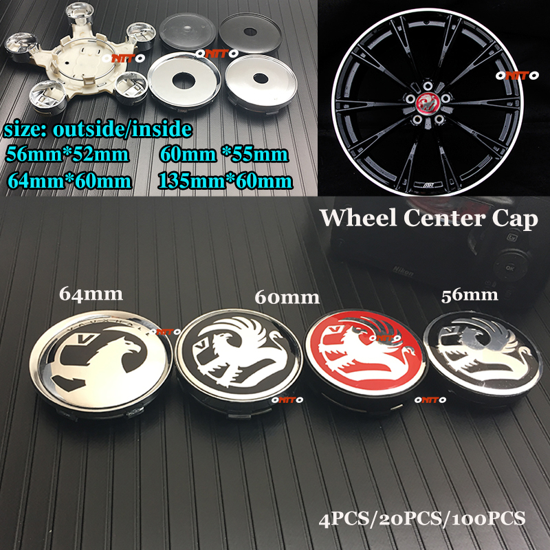 Car Styling 4x 20x 100x Vauxhall Logo Car Emblem Wheel Center Cap...