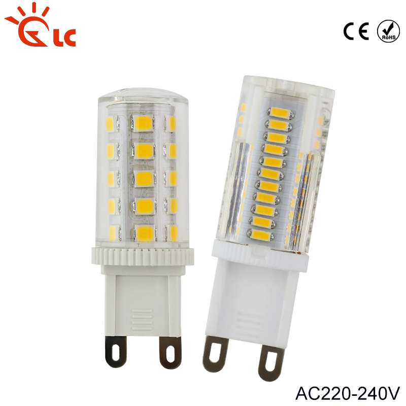 G9 LED 220V Lamp 3W 5W 7W 9W Lampada LED G9 Light Corn Bulb 360 Beam Crystal Chandelier LED Lamps Replace Halogen G9