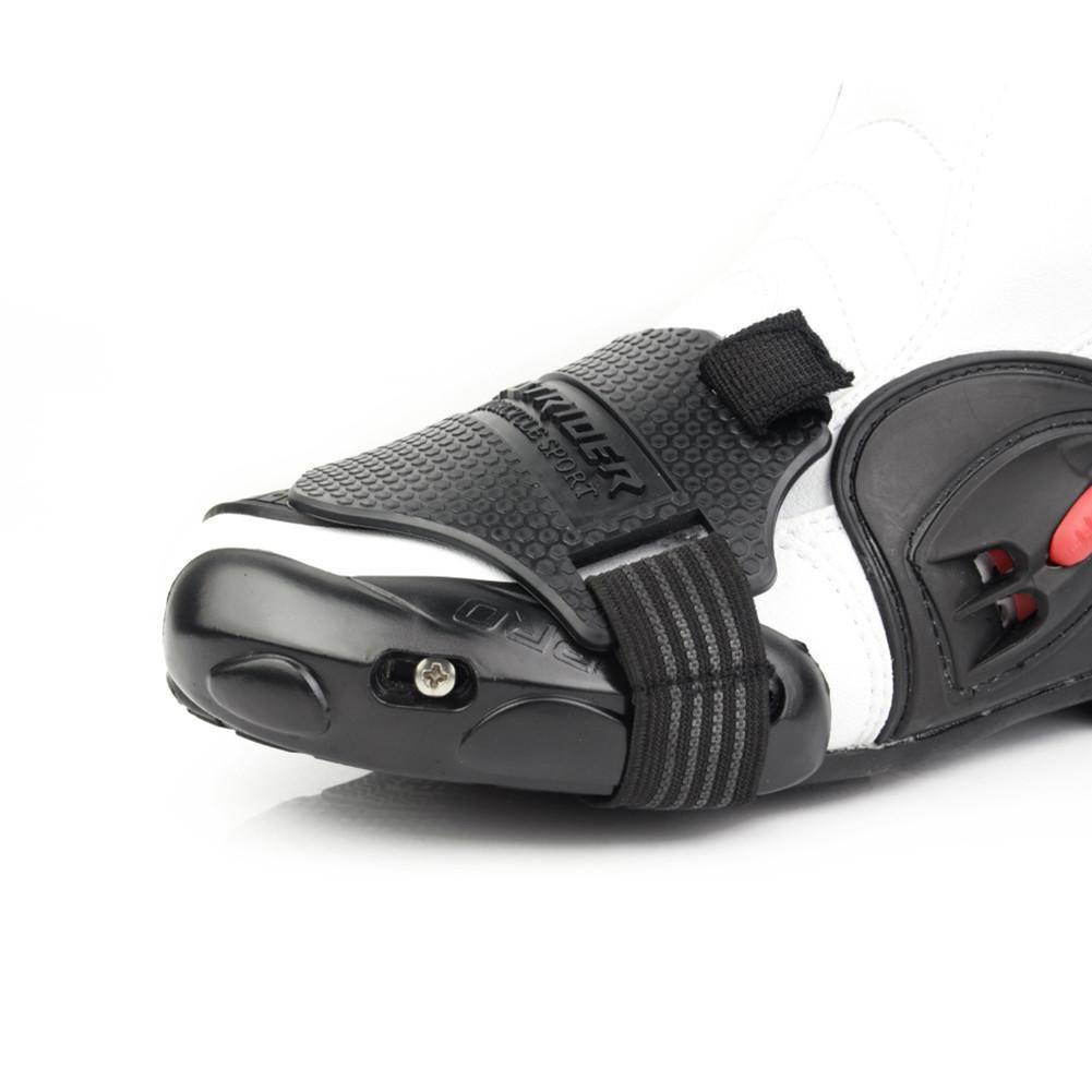 Motorrad Schutz Shift Pad Motocross Männer Stiefel Abdeckung Shifter Schuh Schutz Getriebe Für Reiten Racing Skid-proof Zubehör