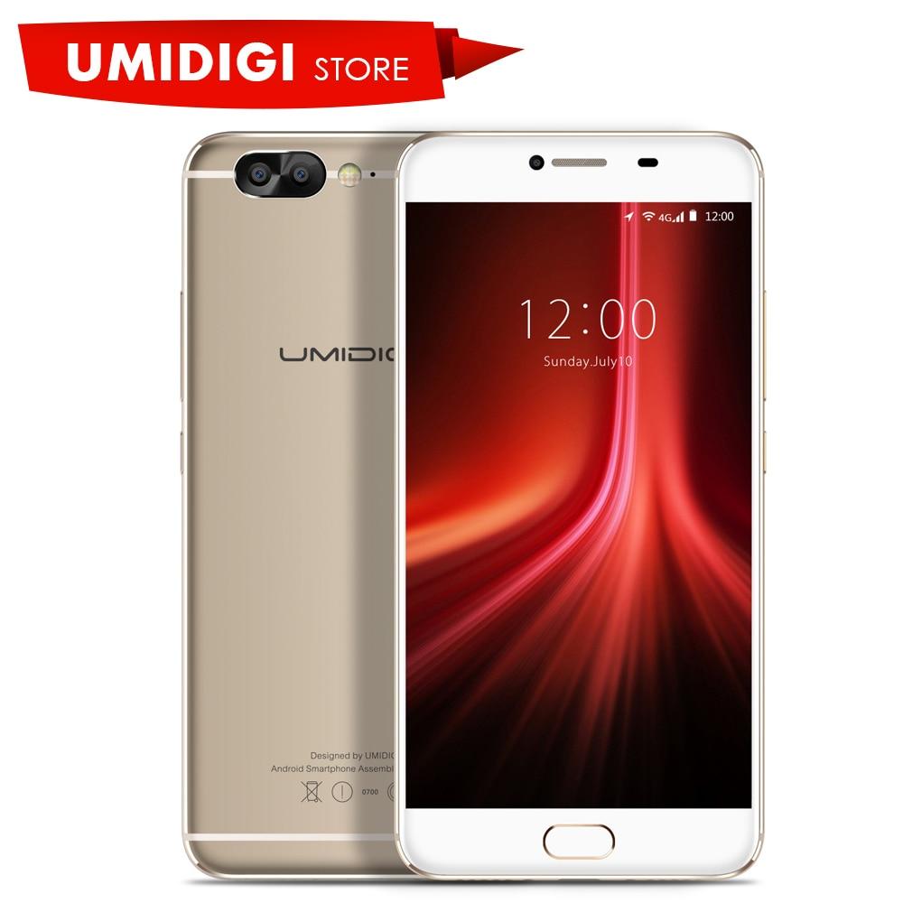 UMIDIGI Z1 Global Firmware Original Cell Phone MTK MT6757 Octa core 2 3GHz 4G LTE 5
