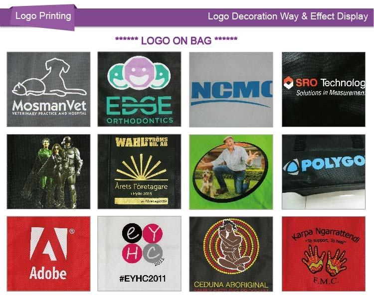 [ Бесплатный логотип ] 500 шт./лот халява логотип компании индивидуальные печать / рекламные non сплетенный мешок, 45 x 35 x 10 см