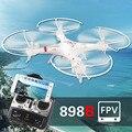 Envío libre HQ898B RC Drones quadcopter con cámara de 2MP HD WIFI FPV tiempo Real de la cámara $ number ejes 2.4G Quadcopter VS SYMA X5C X8W MJX X600
