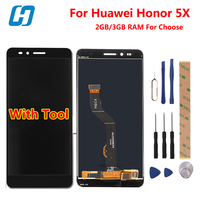 Huawei Honor 5X Touch LCD Screen Original 5 0 Inch Lcd Display Touch Screen Replacement For