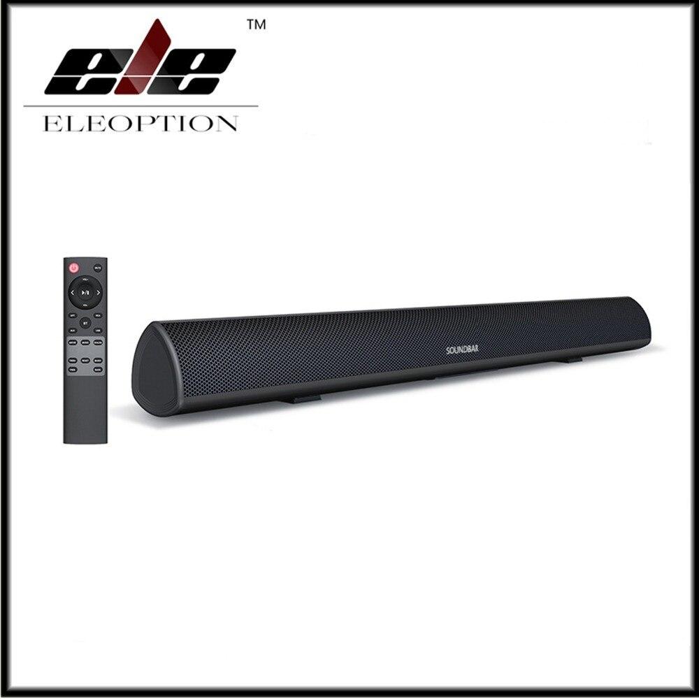 TV SoundBar Bluetooth Lautsprecher Wired Home Theater System 80W Sound Bar 3D Bass Surround 80 dB Audio Fernbedienung wand Montierbar