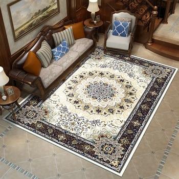 リビングルームの寝室の敷物およびカーペットのためのペルシャ様式のカーペット豪華な古典的なトルコ研究床マットコーヒーテーブルエリア敷物ソファとカーペットの装飾
