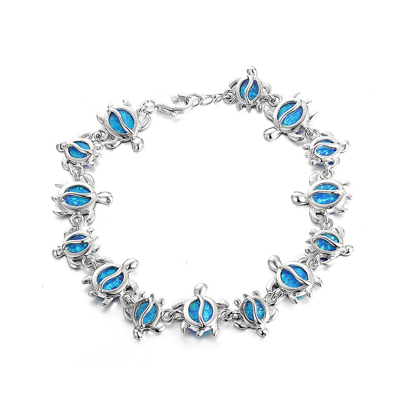 2015 New 925 sterling silver fire opal Women Bracelets Cute Turtles 925 silver bracelet Fashion jewelry Wholesale FB094H702015 New 925 sterling silver fire opal Women Bracelets Cute Turtles 925 silver bracelet Fashion jewelry Wholesale FB094H70