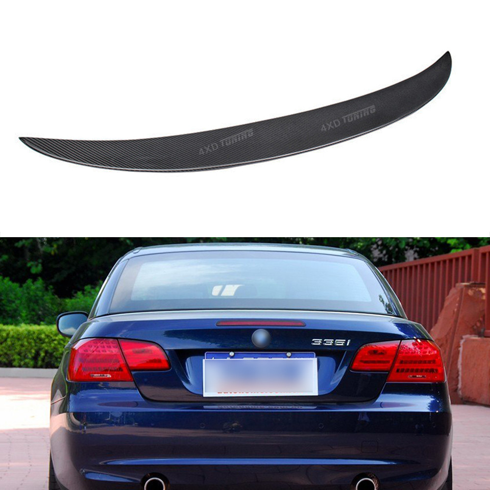 For BMW 3 Series E93 Coupe Convertible Carbon Rear Spoiler