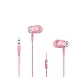 Image 2 - 10 Stuks Veel K68 In Ear Oortelefoon Headset Wired Controle Met 3.5 Mm Interfac Mic Oortelefoon Voor Android voor Apple