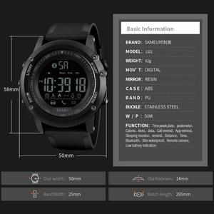 Image 3 - SKMEI Remote Kamera Uhr Schrittzähler APP Anruf Erinnern Armband Schlaf Monitor Männer uhr Für Android IOS 1250