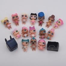 플라스틱 아기 인형 액션 그림 장난감 여동생 인형 공 가방없이 가방으로 정장 아기 장난감 참신 달걀 인형 소녀 선물