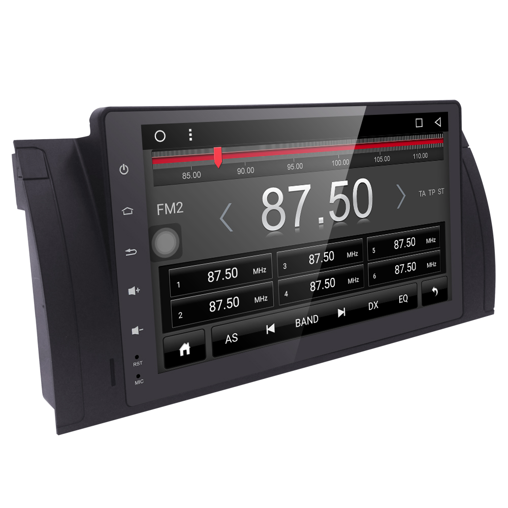 "imágenes para 9 ""Android 6.0 Quad core Coche DVD Estéreo del GPS para BMW Serie 5 E39 E53 X5 M5 Con BT Wifi Radio de Canbus 4G WIFI SWC BT DVR DAB MAPAS"