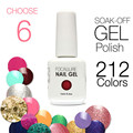 (Choose 6)Focallure Gel Polish Soak Off UV Nail Gel 30 Days Long Lasting 212 Gorgeous Colors The Best Gel Polish