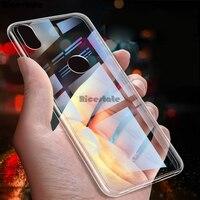 Transparent Soft TPU Case For Xiaomi Mi 8 SE Mi Play Max Mix 2 Mi9 SE Mi 5 5s Plus 6 5X 6X A1 A2 lite Pocophone F1 Clear Cases