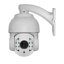 960P HD Outdoor PTZ zoom waterproof metal P2P onvif 6IR night vision security