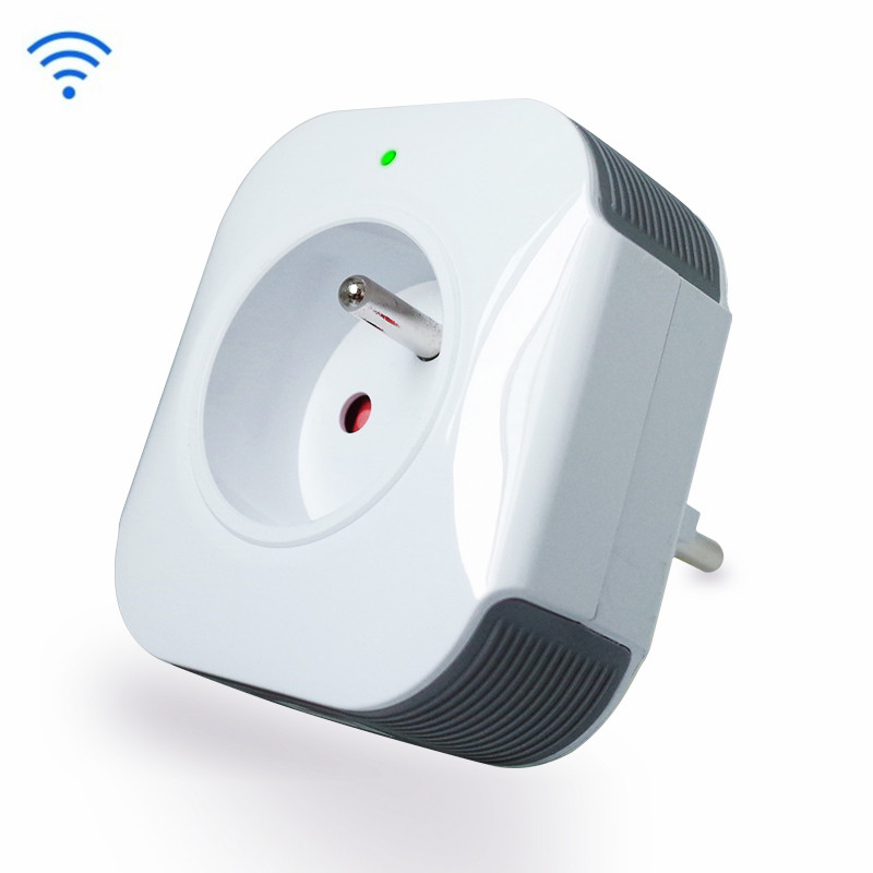 Wi-Fi Smart Plug,EU/RF 10A,Compatible With Amazon Alexa And Google Assistant,No Hub Required Control Your Devices From Anywhere