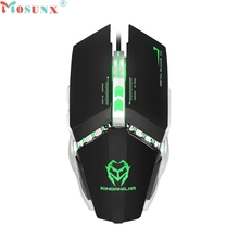 Ecosin2 Mechanical Wired Gaming Mouse 3200 DPI 9D Buttons LED For PC Laptop 17mar24
