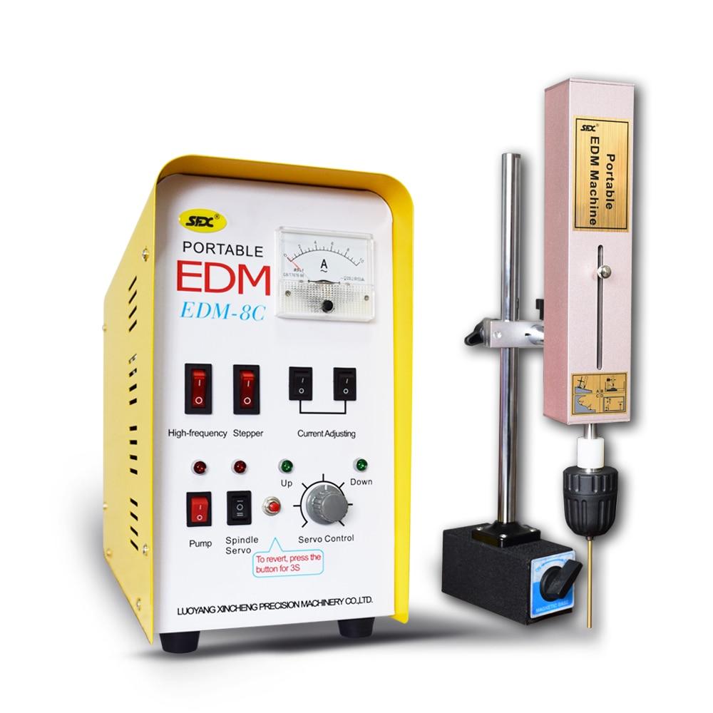 EDM-8C fil électronique edm rapide enlever les boulons cassés, les robinets, la machine d'érosion d'étincelle d'électrode de vis